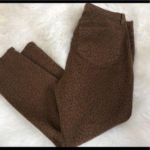 NYDJ Cheetah Jeans size 16